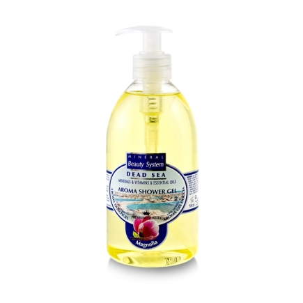 Gel de dus cu magnolie, minerale si vitamine, Mineral Beauty System, 500ml