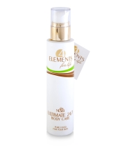 Crema organica pentru corp, protectie si hrana 24 de ore, 4 Elements for Life, 200ML